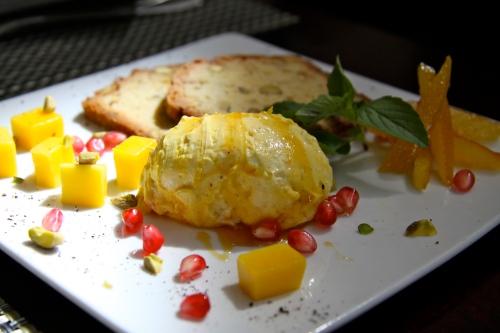 Lemon Cardamom Drizzle Cake