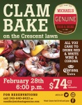 Clam Bake feb 2015