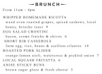 NEW FINAL Brunch Menu