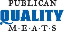 PQM logo with blue