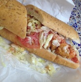 You gotta hit up a Po' Boy or two when in NOLA, its home. Here, we think one from Verti Marte. Gotta think their website is a sign it's good!