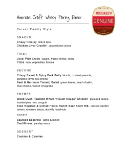 11.8.13 American Craft Whisky Pairing Dinner (1)