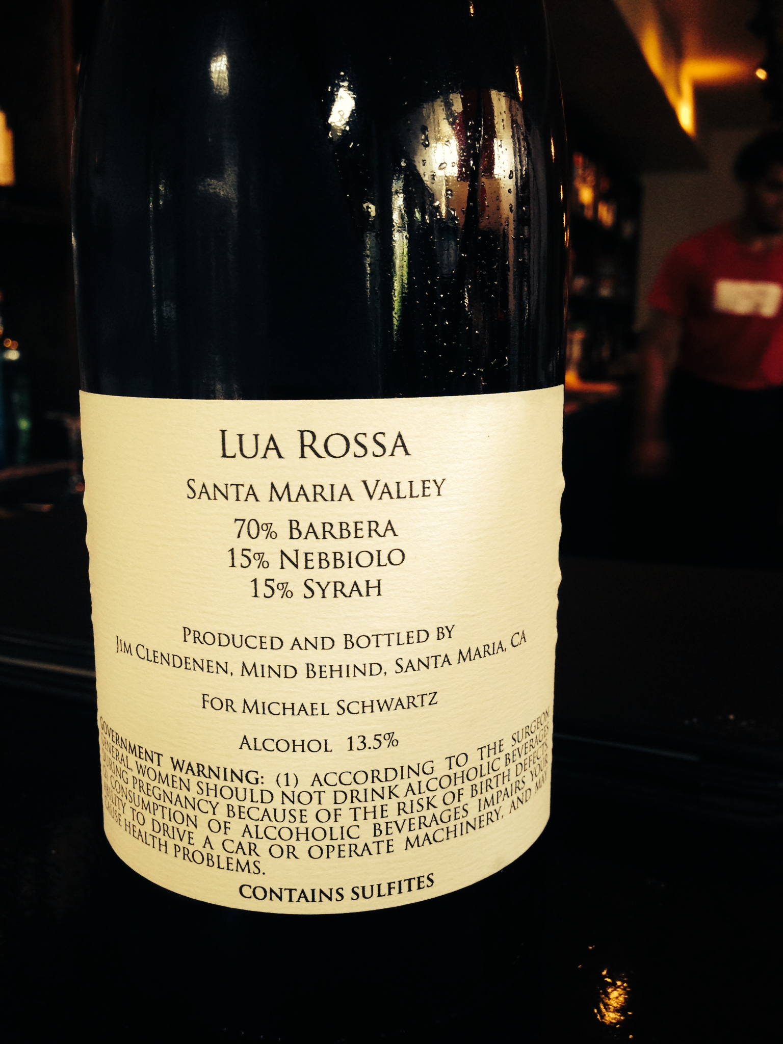 Our Lua Rossa Wine Blended And By Design The Genuine