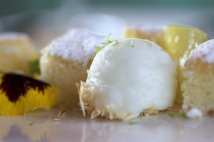 Coconut cake lemon ice CU