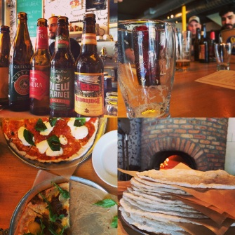 Gluten free tasting at Harry's Pizzeria
