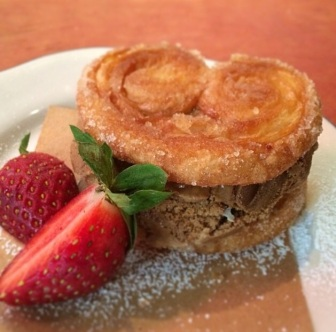 Palmier & Coffee Ice Cream Sandwich