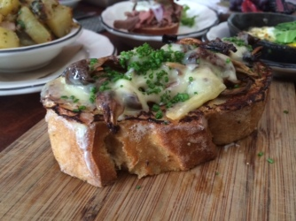 Pain Perdu with Mushrooms