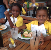 http://instagram.com/p/vE7DYMhyXE/?modal=true How cute are our genuine kids? Hello from our 45-person special event in the restaurant today for Prospect Primary School! #eventbell #privateevents #genuinekids #luncheon #prixfixe #healthylunch #caymanislands #grandcayman @chefprudent33 41 likes