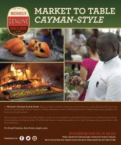 Our creative in the current issue of Ritz-Carlton's magazine features the market and one of our favorite local delicacies... Ackee!