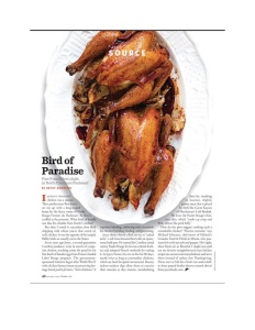 Saveur Joyce Farms Poulet Rouge Feature