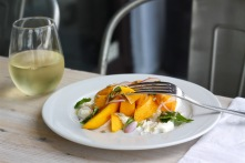 Mango and Stracciatella Salad,