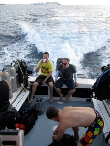 Thomas and Chef go lionfish culling with Ambassador Divers and the DOE