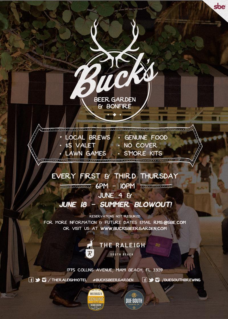 Buck\'s Beer Garden & Bonfire | The Genuine Kitchen