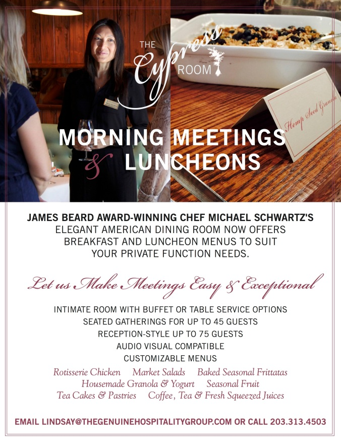 The Cypress Room Meetings