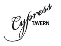 Cypress Tavern logo black