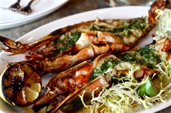 Wood Grilled Giant Prawn