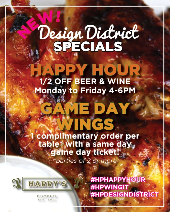 Happy Hour & WIngs HP DD