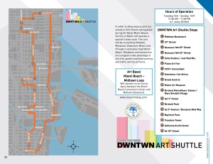 Miami Trolley Art Shuttle