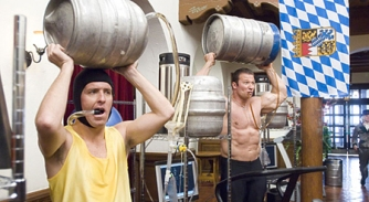 Follow a strict training schedule (Beerfest/copyright Warner Bros. Pictures)