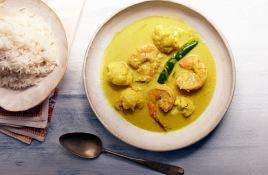 144-145_Shrimp Curry with Cauliflower