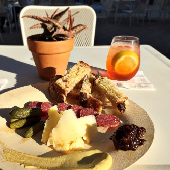 Salumi and cheese (and accompaniments) please!