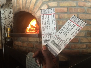 A pair of tickets to a concert as hot as our oven!