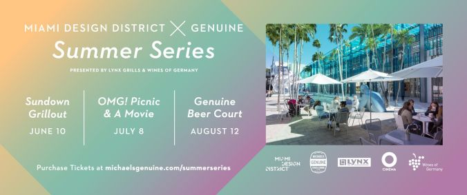 Genuine Summer Series In Theater Ad