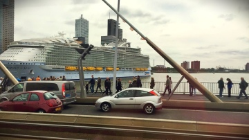 In port in Rotterdam, captured by TGHG assistant chef Megan Hess.