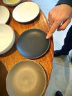 Picking out plates