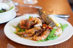Wood Grilled Shrimp