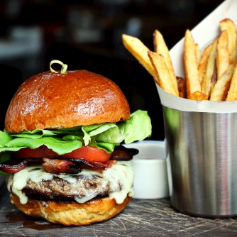 Genuine Bacon Cheeseburger is back and better than ever at Dinner.