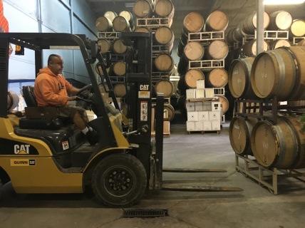 Wine, always working.