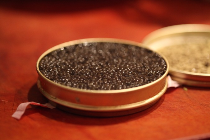Caviar makes everything better.