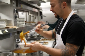 TGHG executive chef Bradley Herron on the Tomato Bread Soup