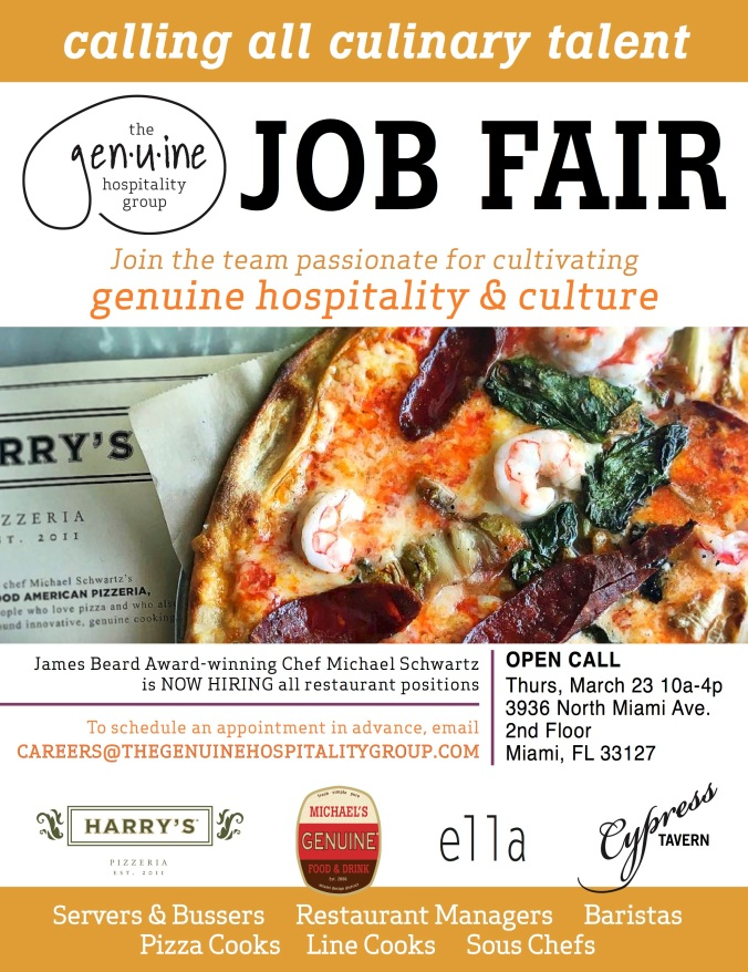 it s that time again we are excited to announce our spring job fair which will take place this coming thursday march 23 from 10 a m to 4 p m at our