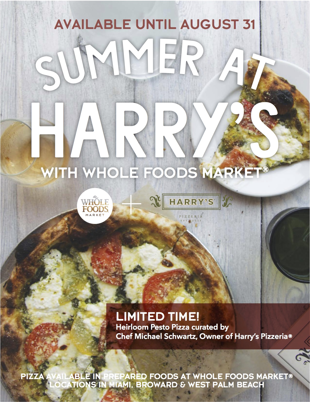 Pesto in Your Pie Whole | A Slice of Harry\'s Pizzeria® at a Whole ...