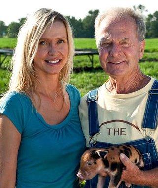Sarah Willis with Niman Ranch founding father Paul.