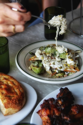 Brussels and Burrata, the best pairing.