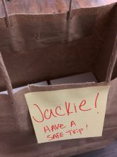 Thanks Katherine, making sure the cocktail tags are on their way safe too.