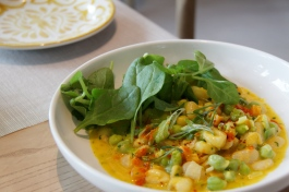 Calabaza-Hominy Stew